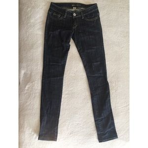 Bark blue Miss Sixty women's low rise jeans